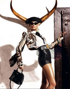 The Undercover Girl: VOGUE JAPON ... KISS OF THE MATADOR