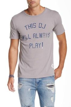 7th Inning Stretch This DJ Will Always Play Graphic Tee