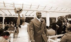 Wedding photography & DJs at Royal Manor in Garfield, NJ provided by Ultimate Party Central - ceremony
