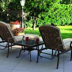 Patio Lounge Chairs On Pinterest Chaise Lounges