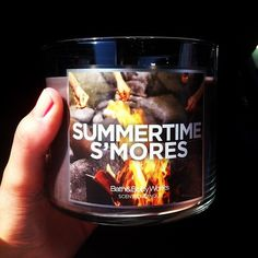 Summertime S'Mores by Bath and Body Works... Omg i bet this smells awesome...