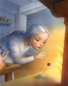 çizgili masallar: Nicoletta Ceccoli, How Robin Saved Spring