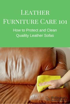 1000 Ideas About Cleaning Leather Sofas On Pinterest Leather Restoration