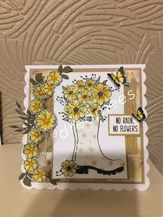 No Rain, Pretty Cards, Card Ideas, Flowers, Projects, Inspiration, Cute Cards, Log Projects, Biblical Inspiration