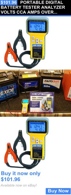 Battery Testers: Portable Digital Battery Tester Analyzer Volts Cca Amps Over All Performance BUY IT NOW ONLY: $101.96