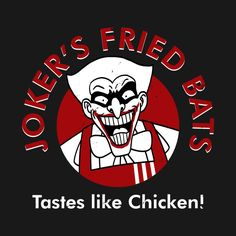Joker's Fried Bats! #Joker #DcVillian #DcComics #DC #Gotham #Mashup #KFC #KentuckyFriedChicken  #TastesLikeChicken #Batman