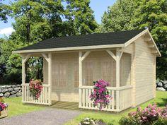 Echo Valley Log Cabin Kit