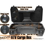 Deluxe Atv Cargo Box With Cushioned Backrest Discount Ramps