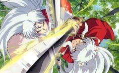 Inuyasha and Sesshoumaru por fantasyrealm