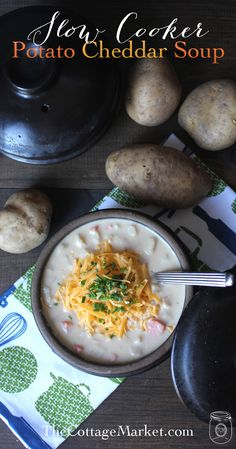 Looking for an amazing Potato Cheddar Soup Slow Cooker Meal? You are in the right place! This one is simply scrumptious plus it is easy to put together!!!