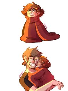 What about little mabel wearing ford's sweater :3?