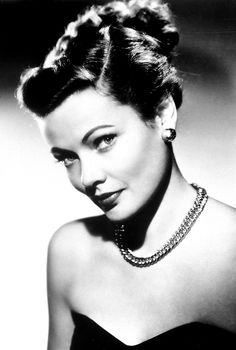 The gorgeous Gene Tierney