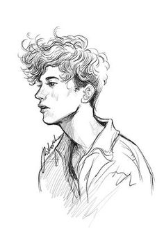 bleistiftzeichnung first attempt on sketching troyesivan (while listening to his songs all day) Pencil Art Drawings, Cool Art Drawings, Art Drawings Sketches, Easy Drawings, Boy Drawing, Arte Sketchbook, Drawing People, Sketches Of People, Art Tutorials
