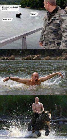 Internet-Hype : Wladimir Putin ist der neue Chuck Norris