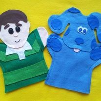 From Lisa Puppet Maker on Storenvy. Felt Puppets, Felt Finger Puppets, Hand Puppets, Puppet Training, Great Birthday Gifts, Birthday Favors, Party Favors, Birthday Ideas, Puppet Crafts
