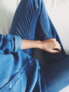There's a DENIM FEVER going on WWW.GLITTERFORBREAKFAST.SE