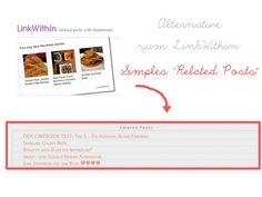 "Copy Paste Love: Alternative zum LinkWithin: Simples ""Related Posts"" ♥"