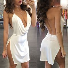 Hot Evening Party Bandage Bodycon Women Cocktail Summer Casual Short Mini Dress