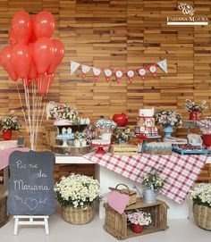 Camping With Baby Backyards 20 Ideas Picnic Party Decorations, Picnic Themed Parties, Camping Parties, Picnic Birthday, Baby Birthday, First Birthday Parties, First Birthdays, Barnyard Party, Farm Party
