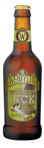 Whiskey Jack Ale from Whistler Brewing. This brewery has a great series of…