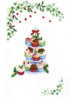 Lisa Alderson - LA - Christmas Cupcakes Copy
