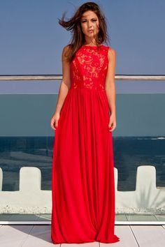 Today i am bringing forth an awesome collection of inspiring red summer maxi dress! Today I am bringing my new collection of red summer maxi dress Pretty Dresses, Beautiful Dresses, Gorgeous Dress, Summer Dresses 2017, Summer Maxi, Maxi Robes, Maxi Dresses, Prom Dress, Dress Hire