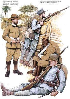 WW1 Portuguese Africa