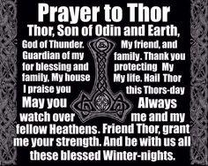Prayer to Thor
