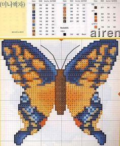 Cross Stitch Boards, Just Cross Stitch, Cross Stitch Animals, Cross Stitch Kits, Cross Stitch Patterns, Cross Stitching, Cross Stitch Embroidery, Embroidery Patterns, Butterfly Cross Stitch