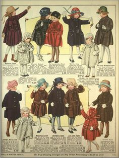Eaton's Catalogue of 1920-21: Childrens Clothes (Plate 1 of 4) by CharmaineZoe, via Flickr