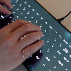 Pretty Cool Leaf Keyboard from Picsity.com