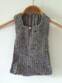 m.i.l.c.h.schaum: crocheted baby vest