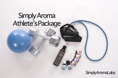 Simply Aroma's Athlete's Package - description and video  www.simplyaroma.com/amandahughes