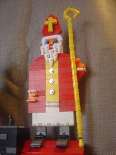 Sint & Piet: A LEGO® creation by Giovanni & Lennaert Seynhaeve : MOCpages.com