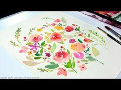 DIY Watercolor Painting - YouTube