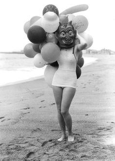 She-Devil in a Bathing Suit: Halloween fun on Venice Beach, 1936
