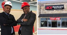 Warren Pegram and his stepson, Charlston Austin, owners of Ace Hardware in South Fulton, Georgia Ace Hardware Store, African American News, Tell My Story, Account Executive, Fulton, Father And Son, Lineup, Workplace, Georgia
