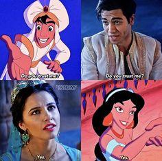 Disney Live, Disney Nerd, Disney Marvel, Disney Memes, Disney Fan Art, Disney Girls, Disney Cartoons, Disney Magic, Aladdin Cast