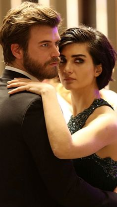 Kivanc Tatlitug & Tuba Buyukustun in Cesur ve Guzel Turkish TV series 2016-2017