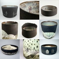 gnccf:   JULIA SMITH CERAMICS Illustrative hand built and printed pots inspired by wild Scottish landscapes. www.juliasmithceramics.com     GREAT NORTHERN CONTEMPORARY CRAFT FAIR #GNCCF 10th-13th October 2013: Spinningfields, Manchester www.greatnorthernevents.co.uk