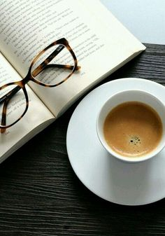 Coffee and a Book with glasses #redoakroasters  Try our single origin fair trade coffee roasted fresh in Tennessee at redoakroasters.com
