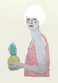Sofia Bonati es una artista autodidacta nacida en Buenos Aires, Argentina, que actualmente vive en el Reino Unido.