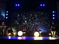 """Check out how we made our drums LIGHT UP during the """"O Come O Come Emmanuel"""" element this Christmas! www.fellowshipcreative.com"""