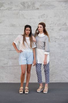 Fashion with a purpose! Spots Annah Stretton Raw Shop Now-- Women's Summer Fashion, Fast Fashion, Womens Fashion, Rustic Fabric, Indie Fashion, Cropped Pants, Chambray, Fashion Forward, Style Me
