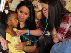 After tragedy struck, a mother was able to save lives by donating her son's organs. Two years later, she came face to face with the little girl who received his heart. She was given a gift that brought her to tears.