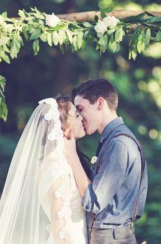 Organic + Rustic Wedding ~ Anthem Photography