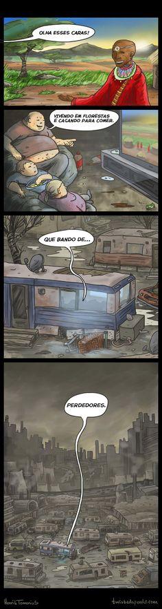 Satirinhas - Quadrinhos, tirinhas, curiosidades e muito mais! - Part 102