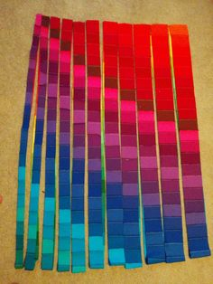 Forget about quilting in shy pastels and neutrals and create a wow-worthy quilt with this jaw-dropping Rainbow Bright Bargello Quilt. With this fun and spirited jelly roll quilt, you can create a boldly vibrant bargello quilt that will leave guests c Bargello Quilt Patterns, Bargello Quilts, Jelly Roll Quilt Patterns, Jellyroll Quilts, Quilt Patterns Free, Hexagon Quilt, Free Pattern, Patchwork Quilting, Strip Quilts
