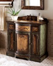 Meadow chest with sink $1899.00
