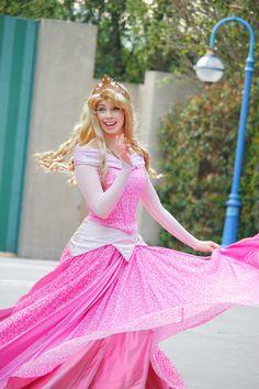 Aurora, HKDL #facecharacter #princess #disney